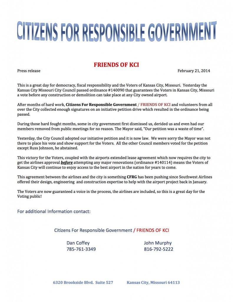 CFRG release