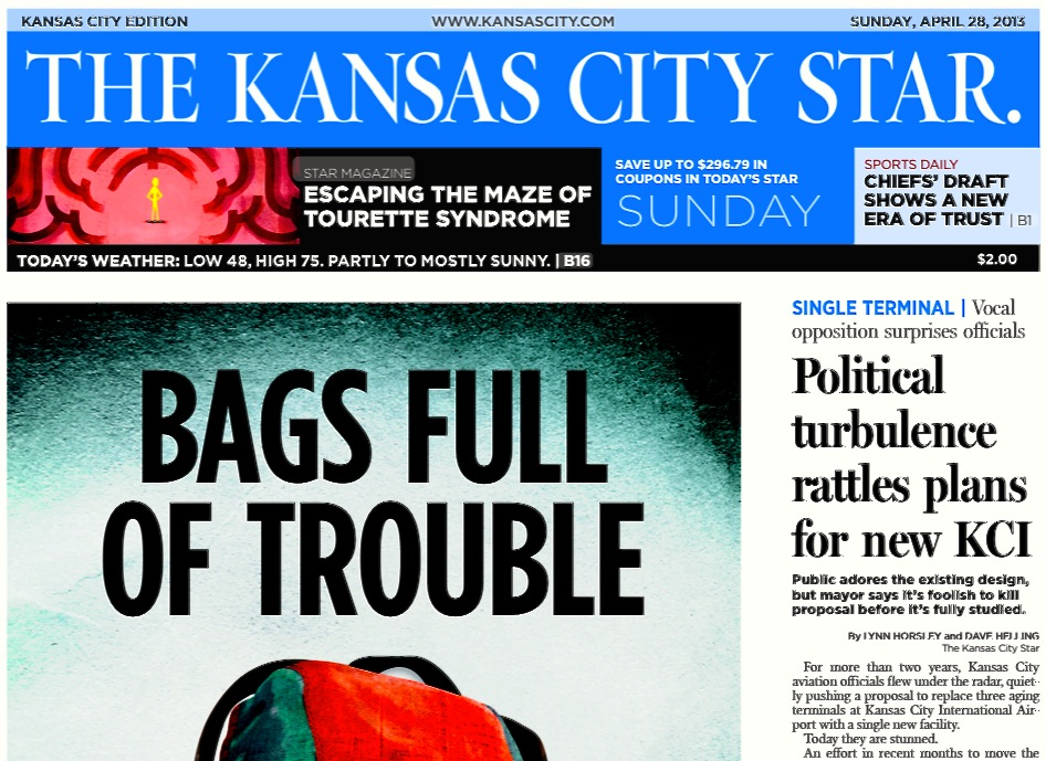Comments And Clarifications On Sunday's KC Star Article