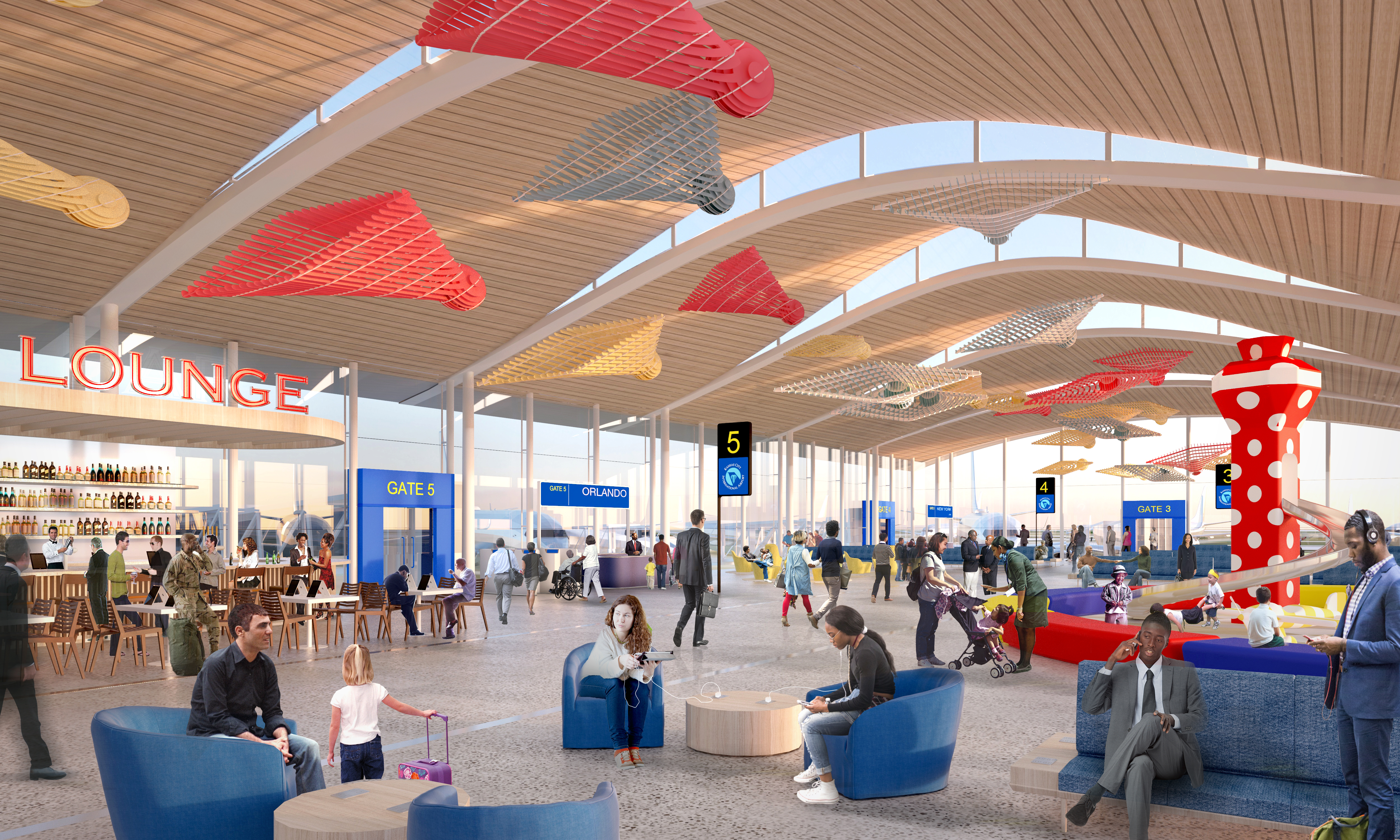 Is Passenger Seating Not Included In A New KCI?